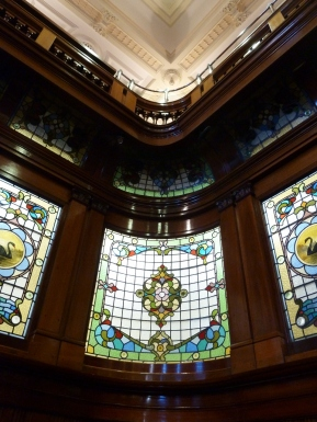 Beautiful stained glass in PH