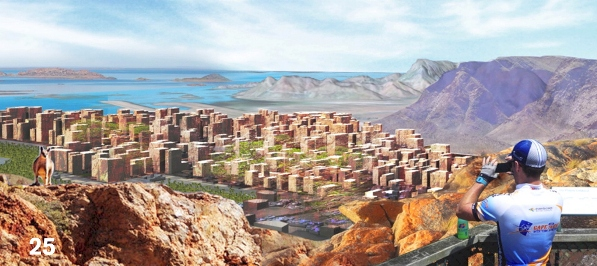 Ecoscape - The Northern City - image from Architecture & Design