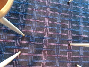 Custom patterned carpet - original design
