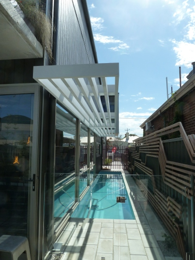 Florence St - A lap pool and spacious two storey house on a tiny block - amazing!